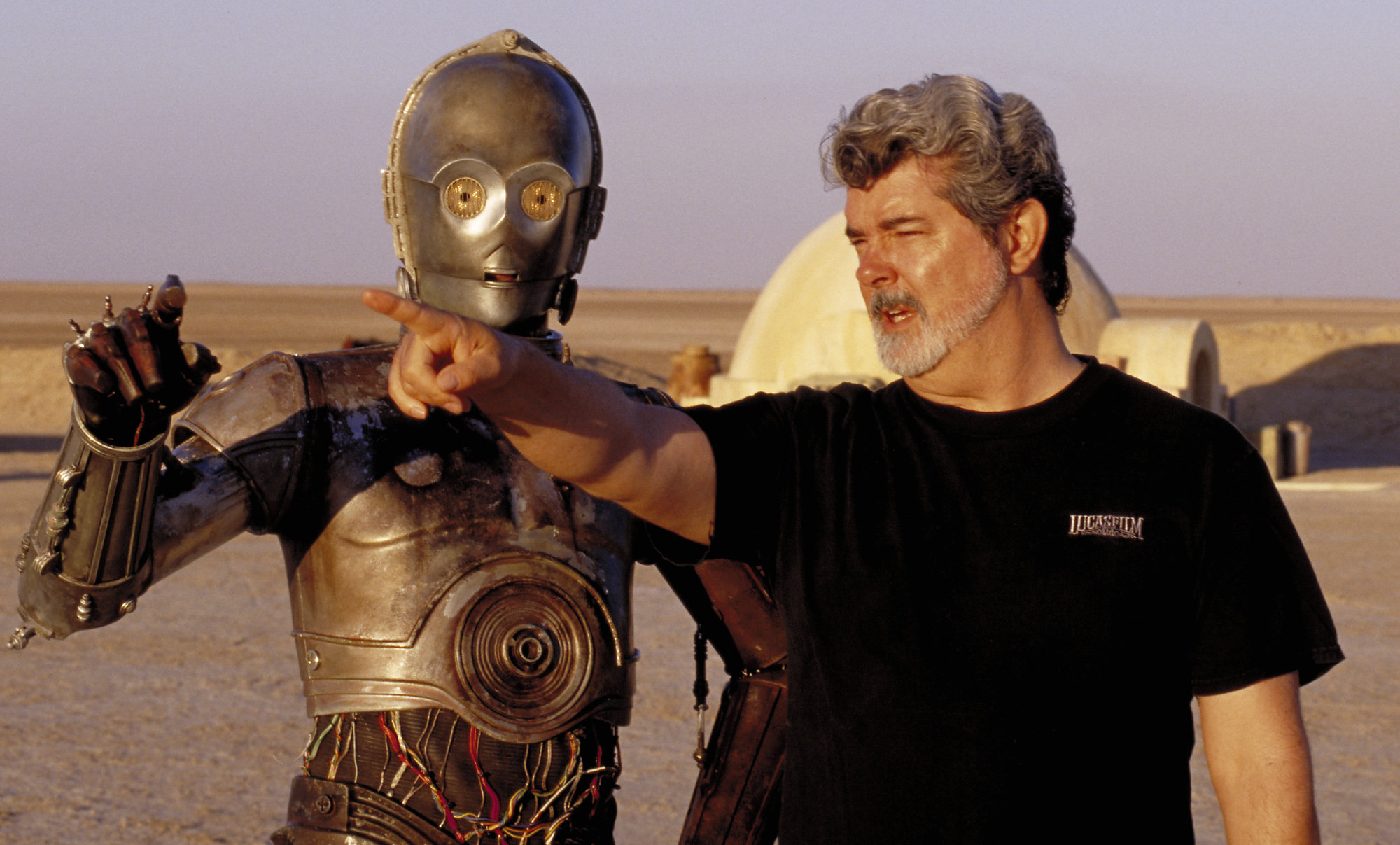 an analysis of the movie star wars directed by george lucas
