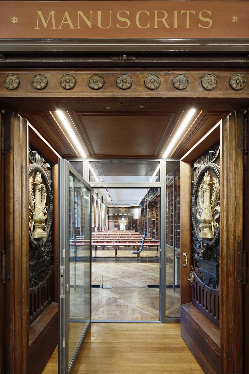библиотека Париж
