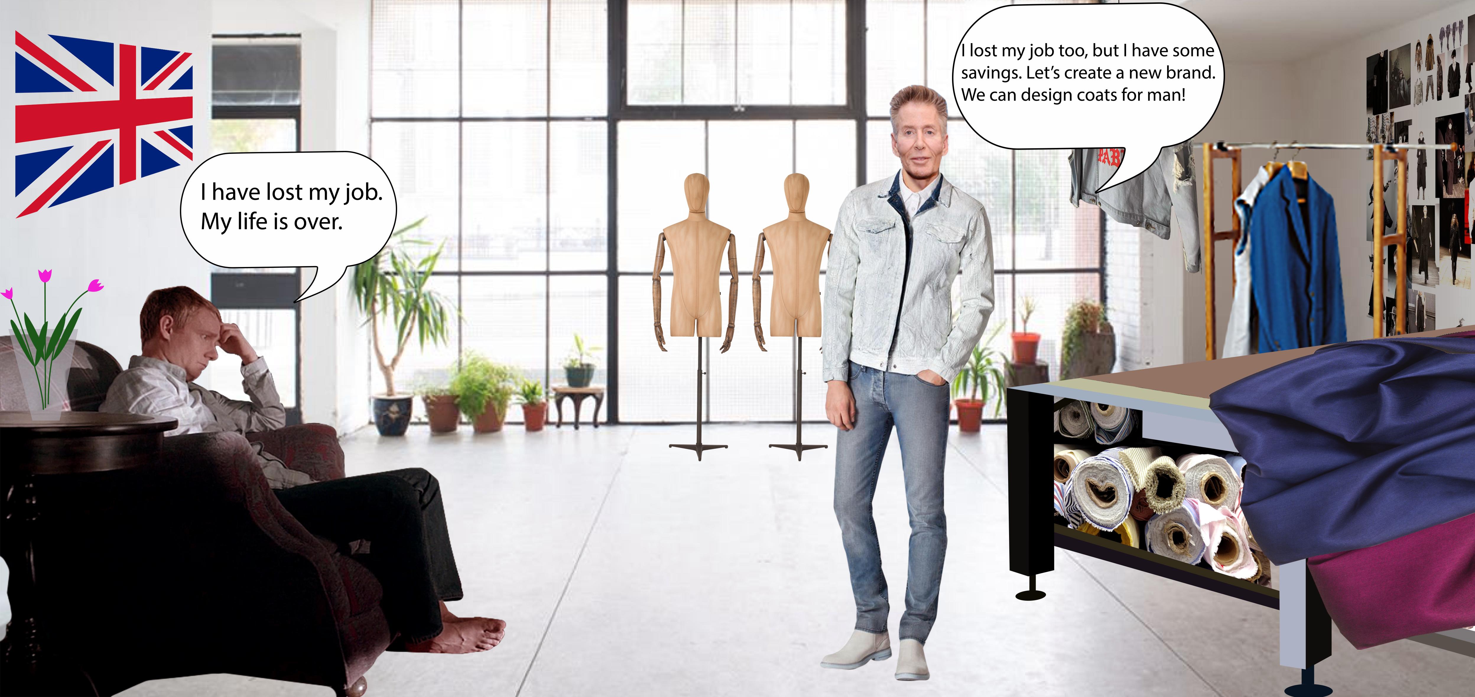 Справа: Кельвин Кляйн - дизайнер и создатель успешного бренда одежды и аксессуаров Calvin Klein. Работал в разных модных домах Нью-Йорка, а в 1968 году создал свой бренд по пошиву верхней одежды для мужчин.