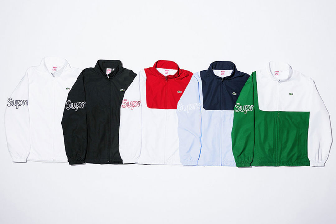 Supreme x Lacoste лукбук