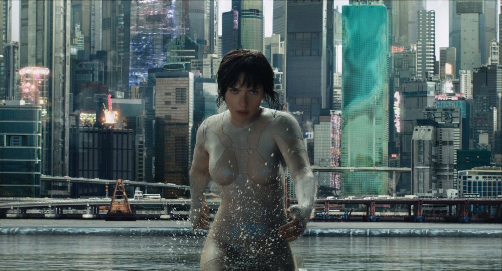 GHOST IN THE SHELL, Scarlett Johansson, 2017. ©Paramount Pictures