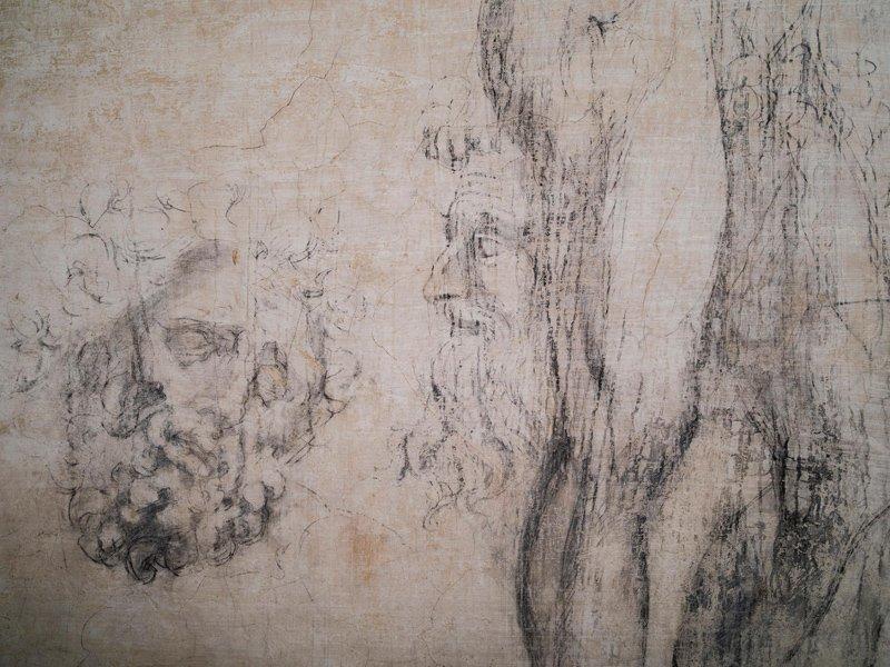 Микеланджело рисунки