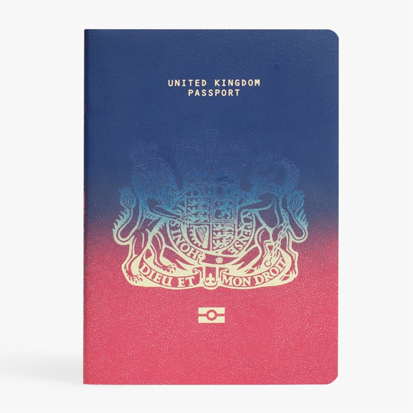 паспорт Великобритания