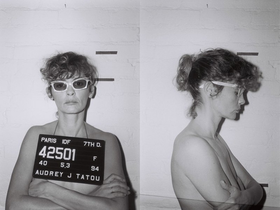 Одри Тоту автопортреты
