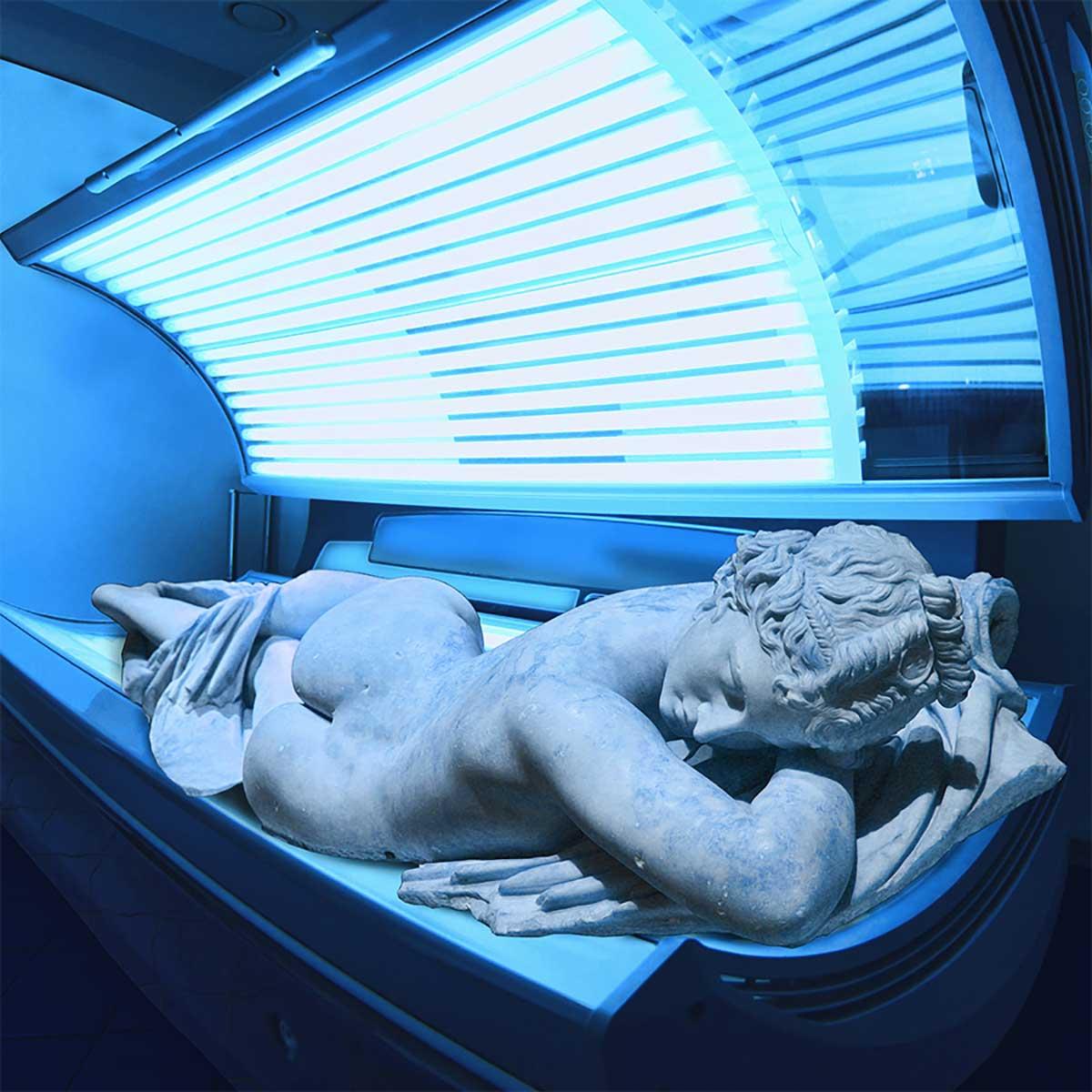 греческие статуи коллажи