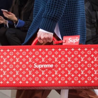 Supreme и Louis Vuitton