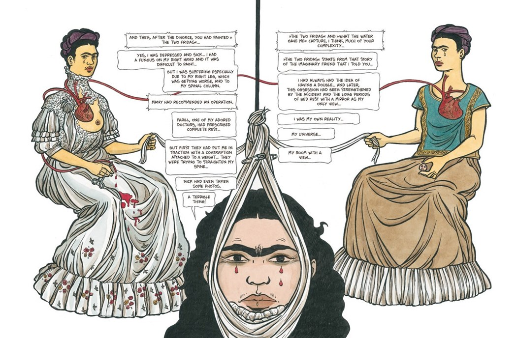 Фрида Кало комикс