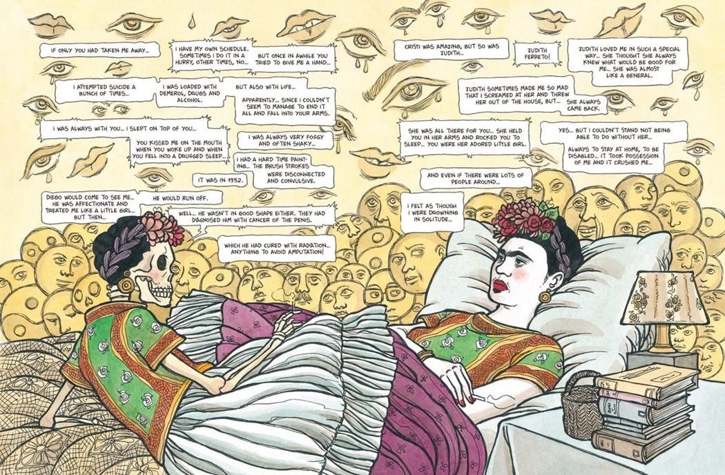 Фрида Кало графический роман