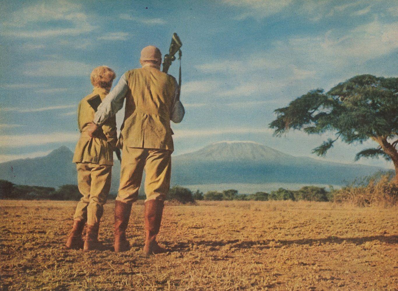 Хэмингуэй в Африке