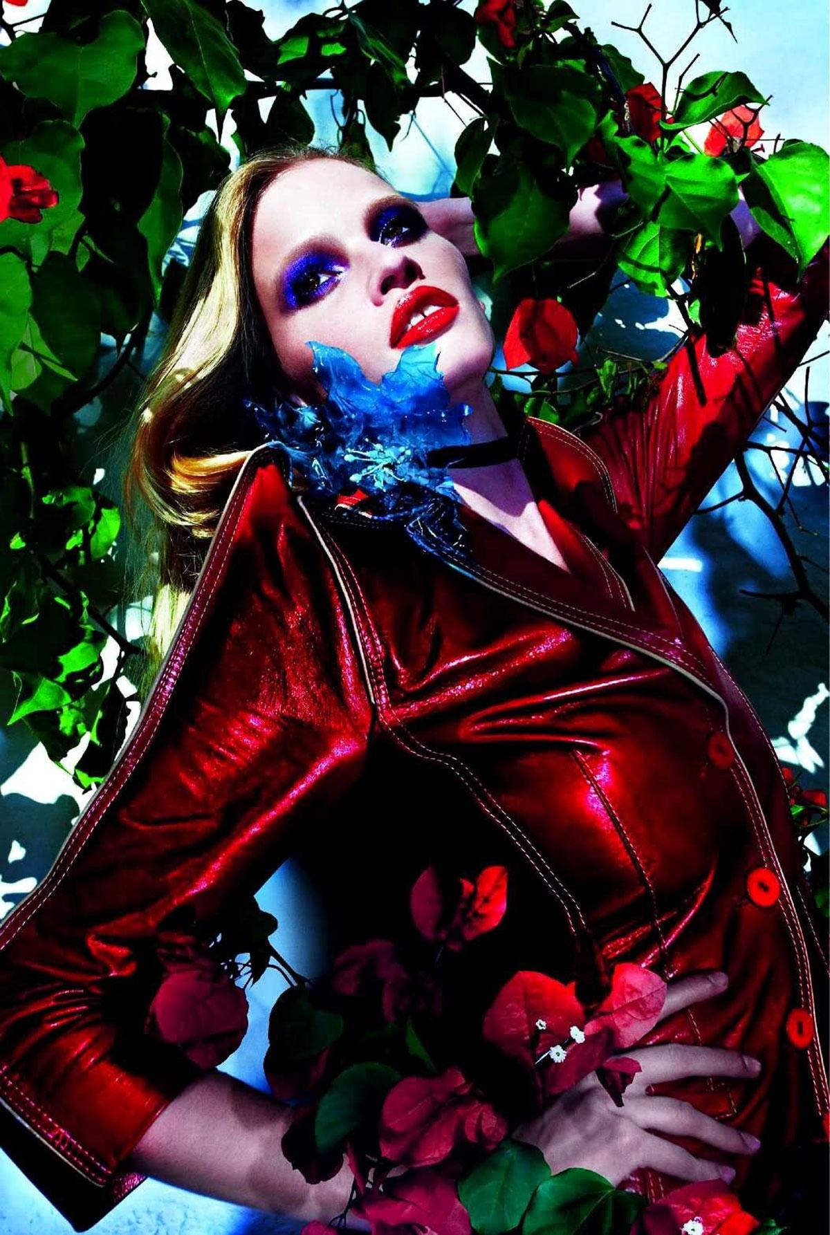 LARA STONE - Vogue Magazine Photoshoot by Mario Sorrenti