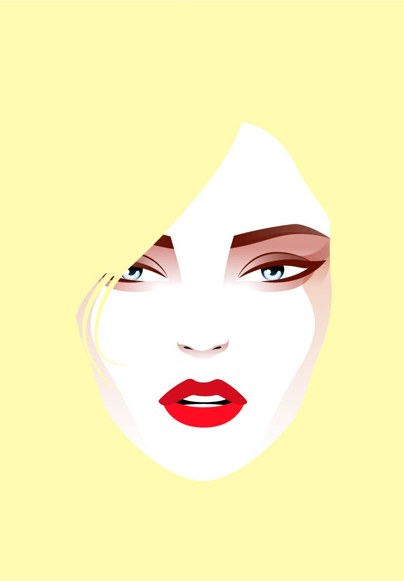 fashion faces портреты