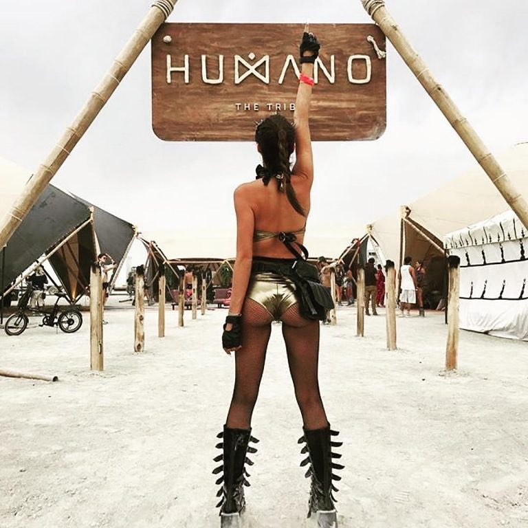 Burning Man Instagram
