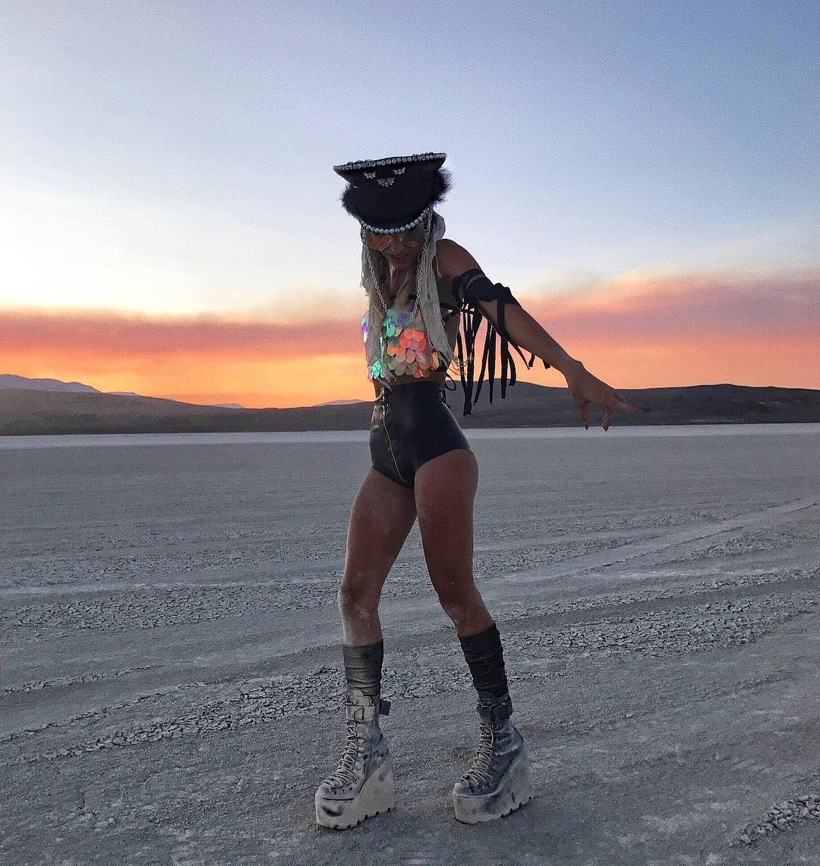 Burning Man Instagram
