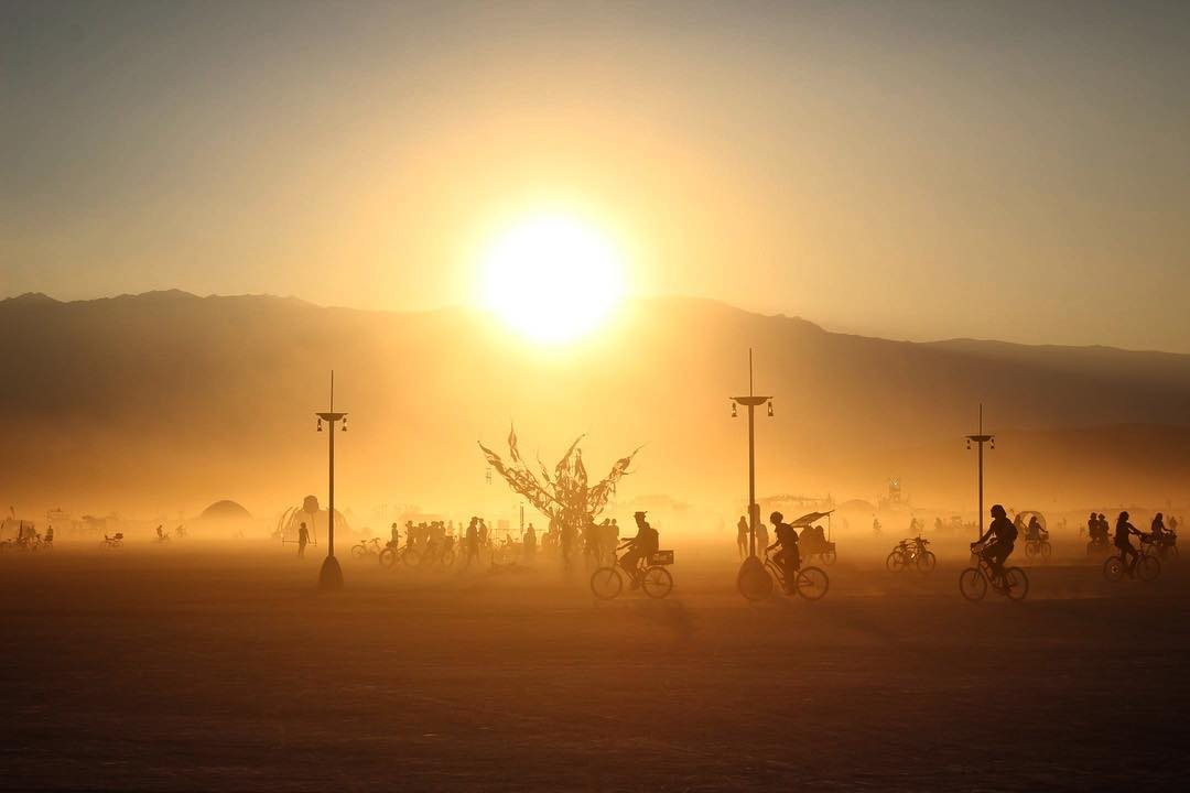 Burning Man фото
