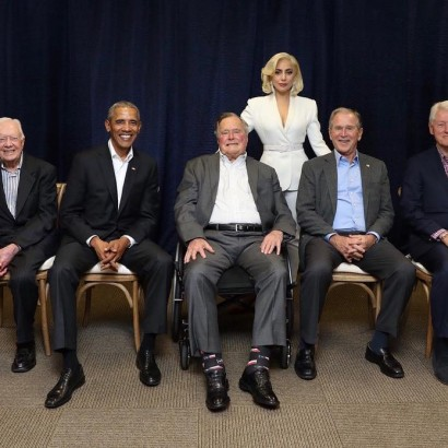Леди Гага и экс-президенты
