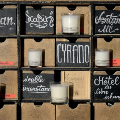 свечи с ароматами театра