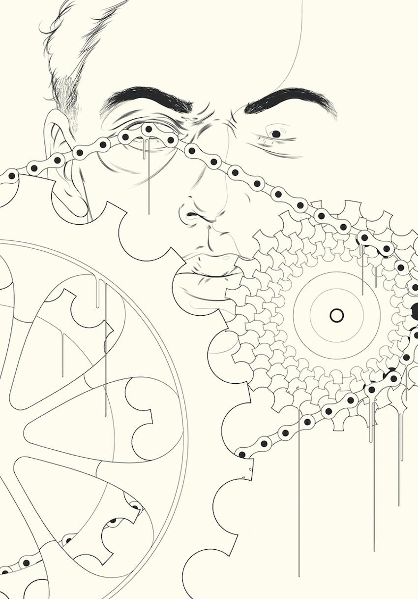 иллюстрации к книге Филиппа К. Дика