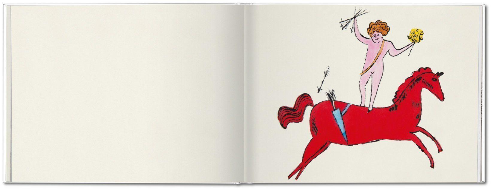 иллюстрированные книги Энди Уорхола