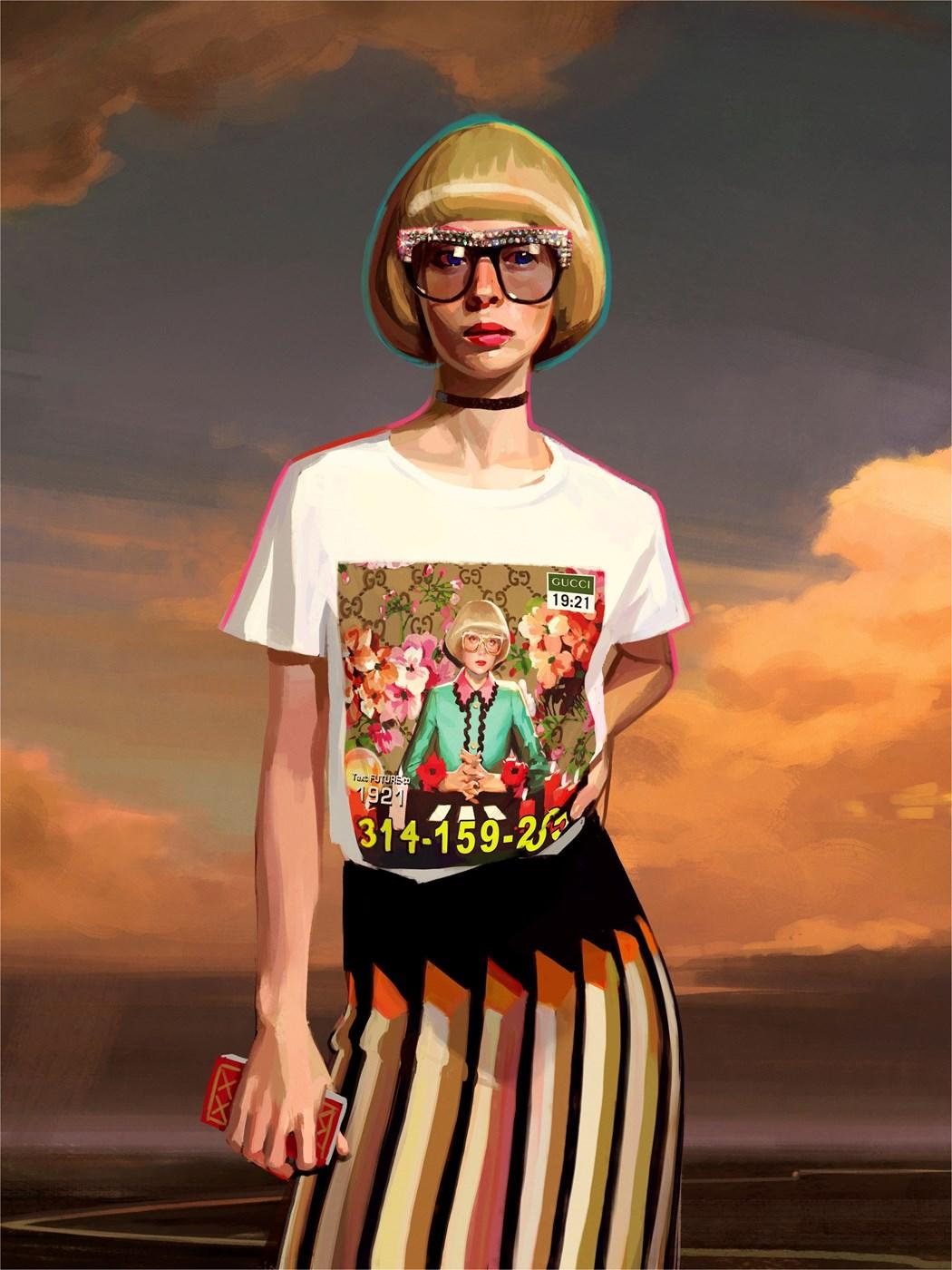 Gucci каталог иллюстрации