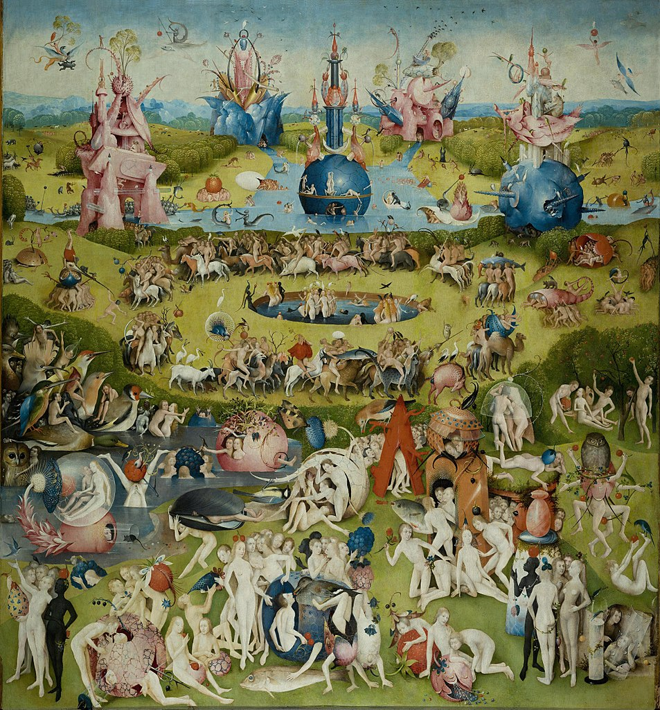 953px-Hieronymus_Bosch_-_The_Garden_of_Earthly_Delights_-_Garden_of_Earthly_Delights_(Ecclesia's_Paradise)