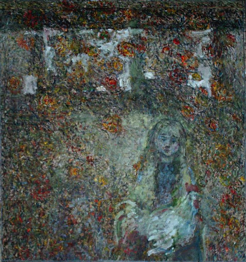 Дівчинка в осінньому листі
