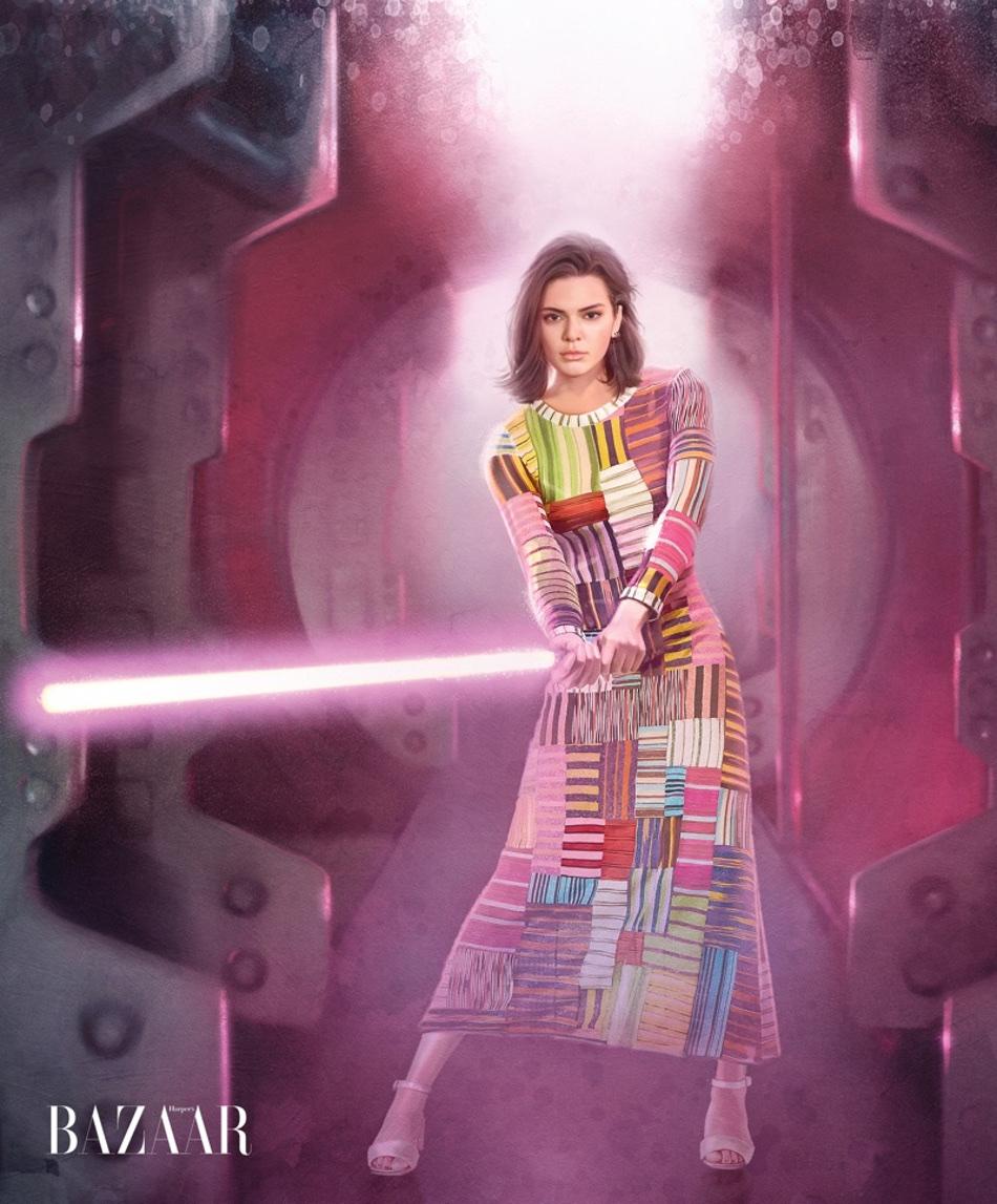 Kendall-Jenner-Star-Wars-Harpers-Bazaar