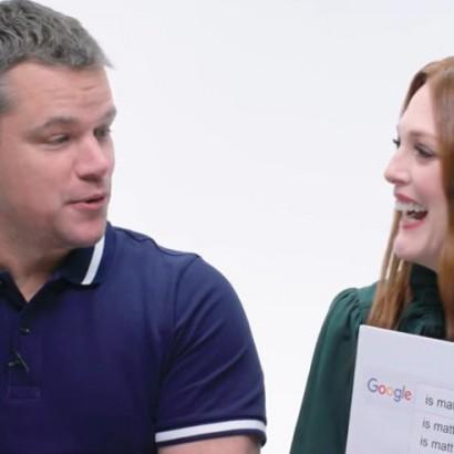 Джулианна Мур и Мэтт Дэймон