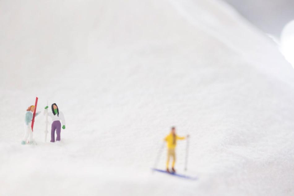 зимние миниатюры проект