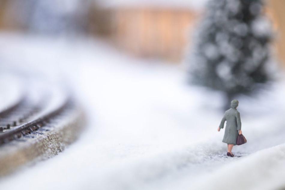 зимние миниатюры