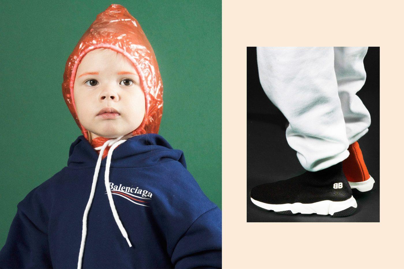 Balenciaga детская коллекция