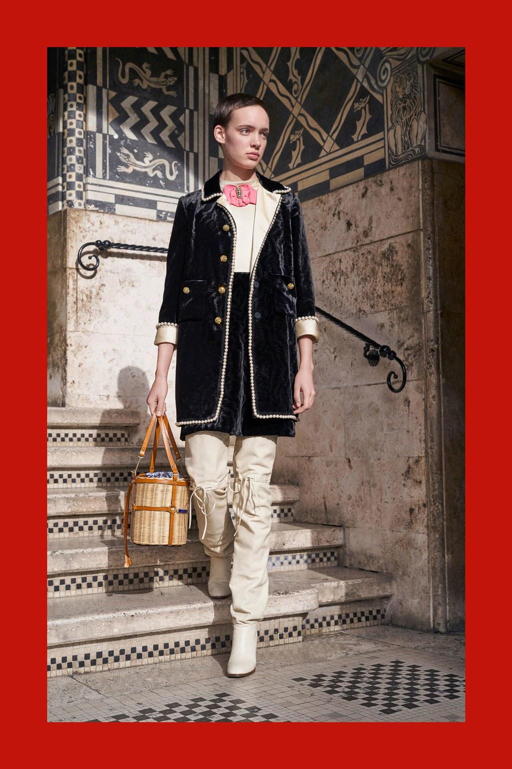 Gucci лукбук коллекции