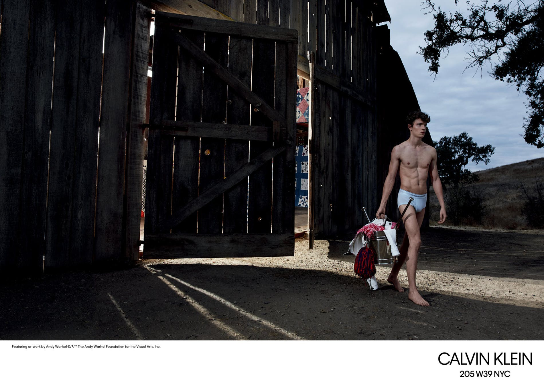 Calvin Klein рекламная кампания