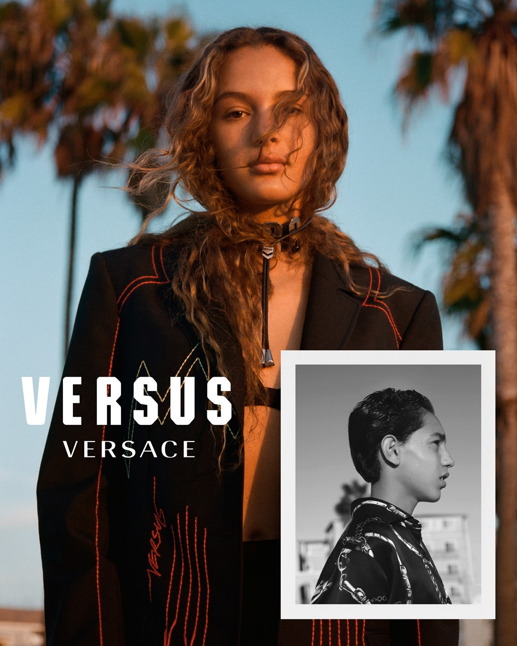 Versus Versace campaign