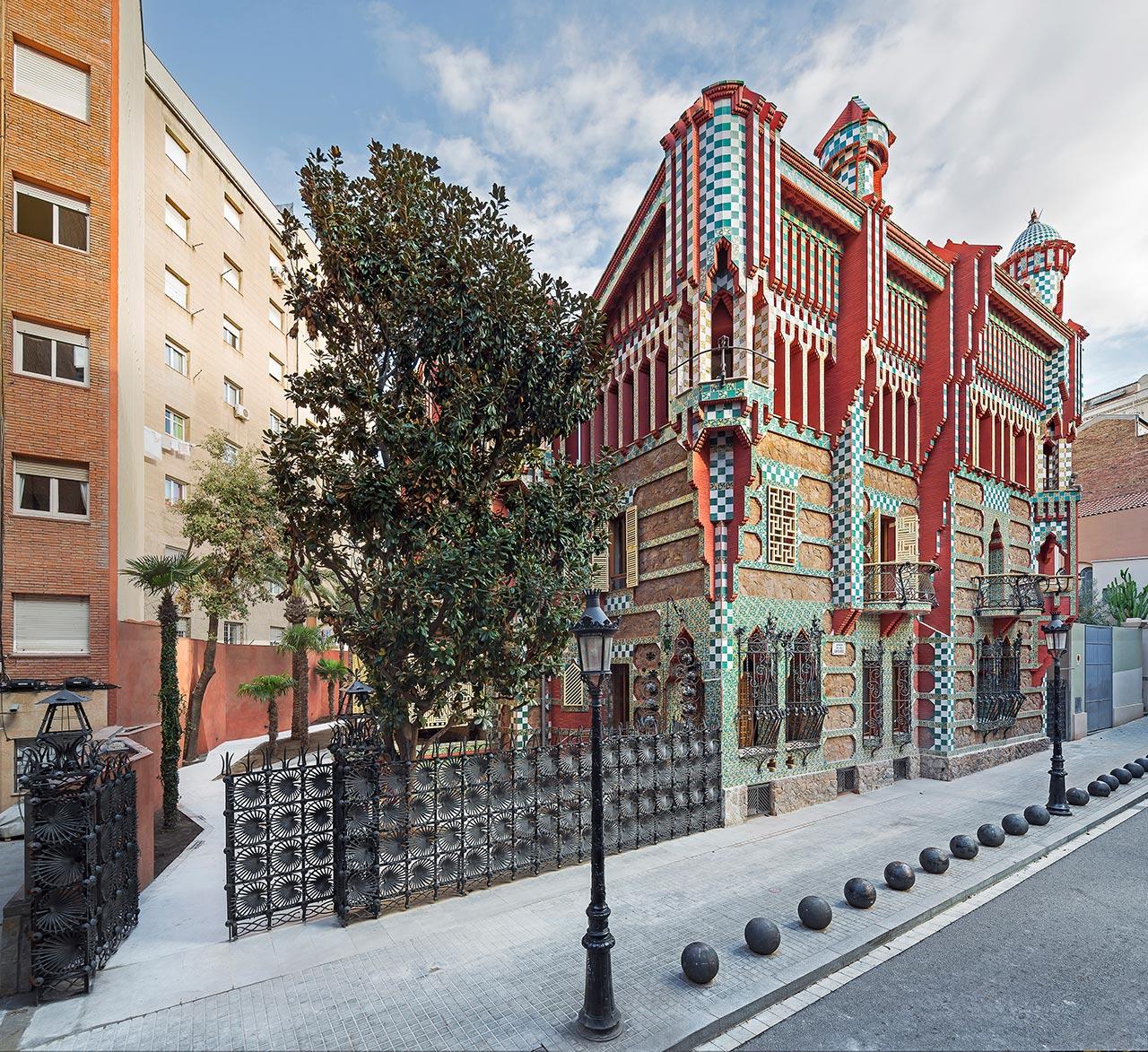 Casa Vicens Гауди