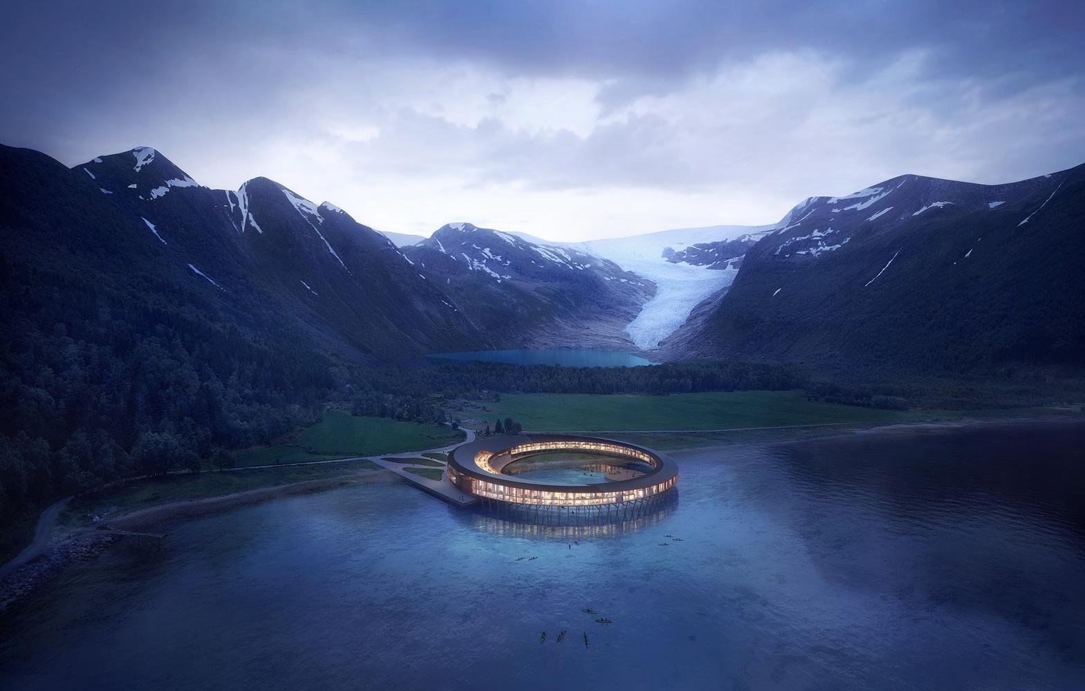 полярный отель