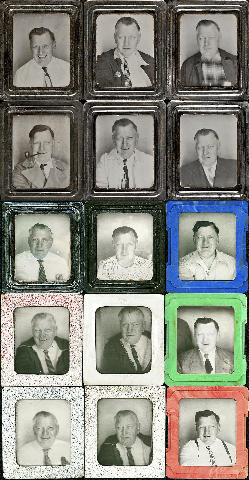 автопортреты из фотобудки