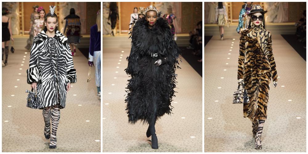 Dolce & Gabbana показ