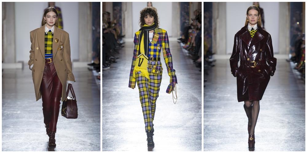 Versace FW'18-19 коллекция