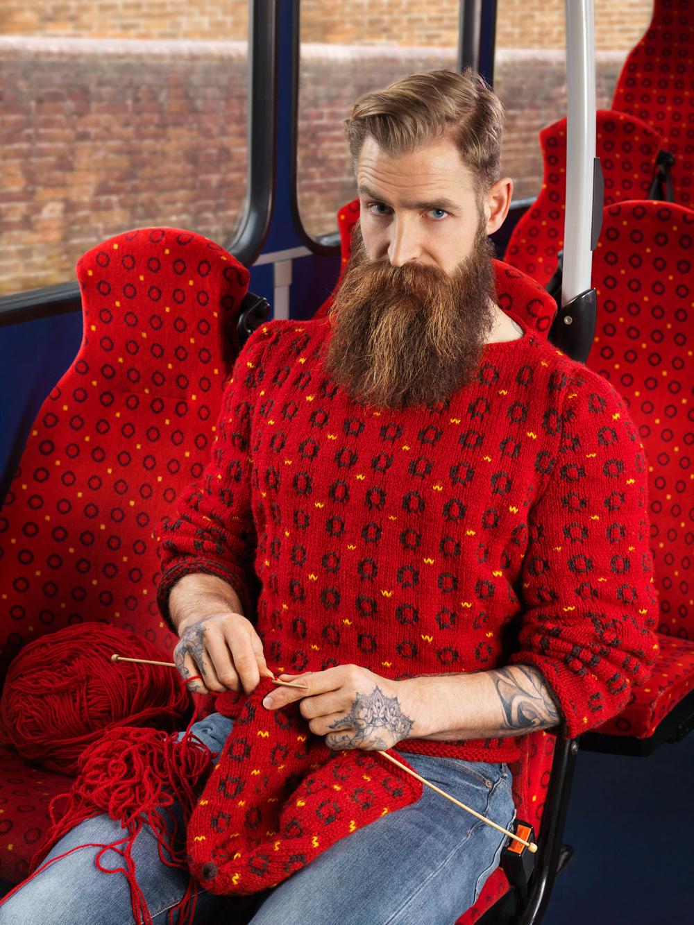 Вязанный камуфляж
