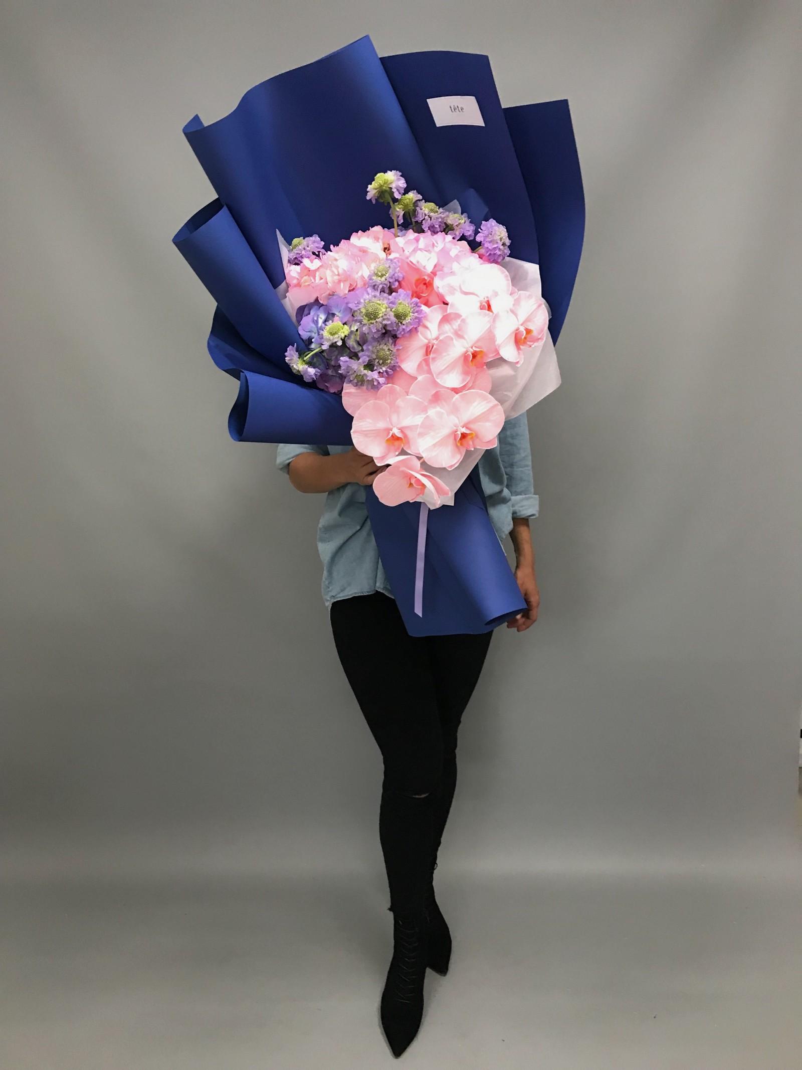 tete fleurs