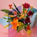цветы и плексиглас