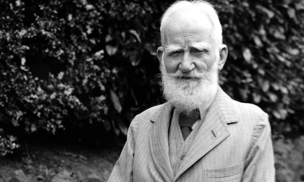 Бернард Шоу, драматург, писатель, Пигмалион, Нобелевская премия