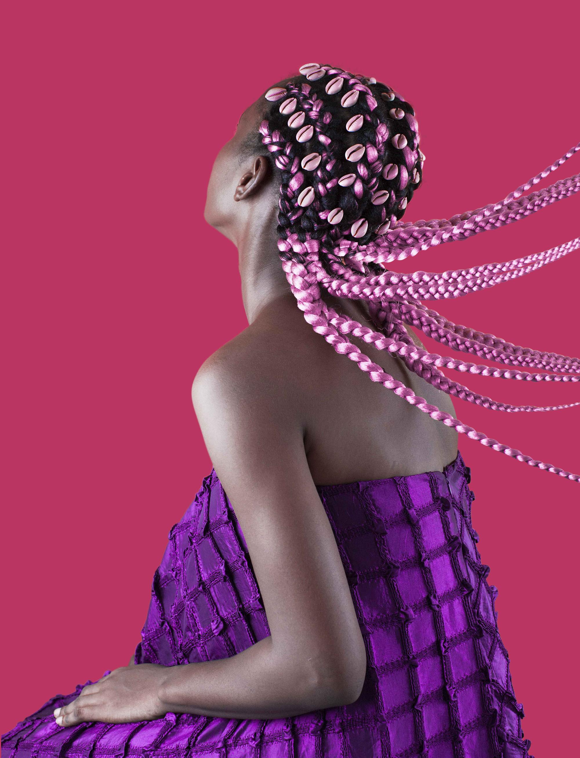 нигерийские причёски