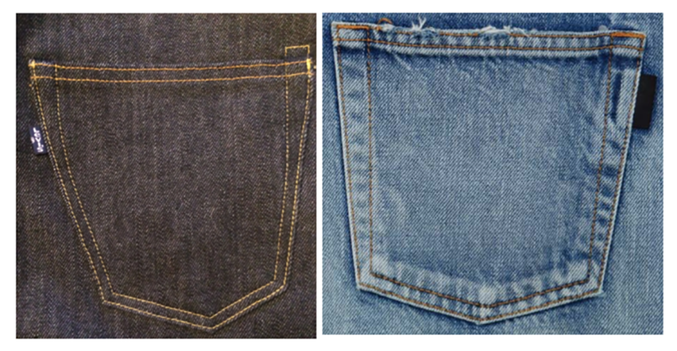 Levi's vs Saint Laurent