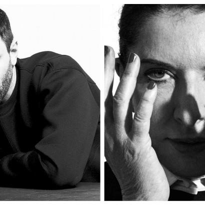 Риккардо Тиши и Марина Абрамович