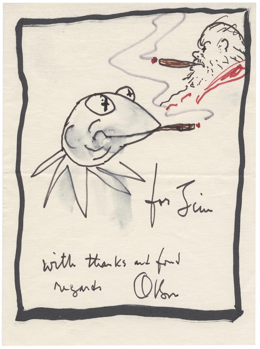 Sketch for Jim Henson