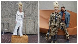 Vivienne Westwood сняли кампейн на фоне архитектуры Барбикана