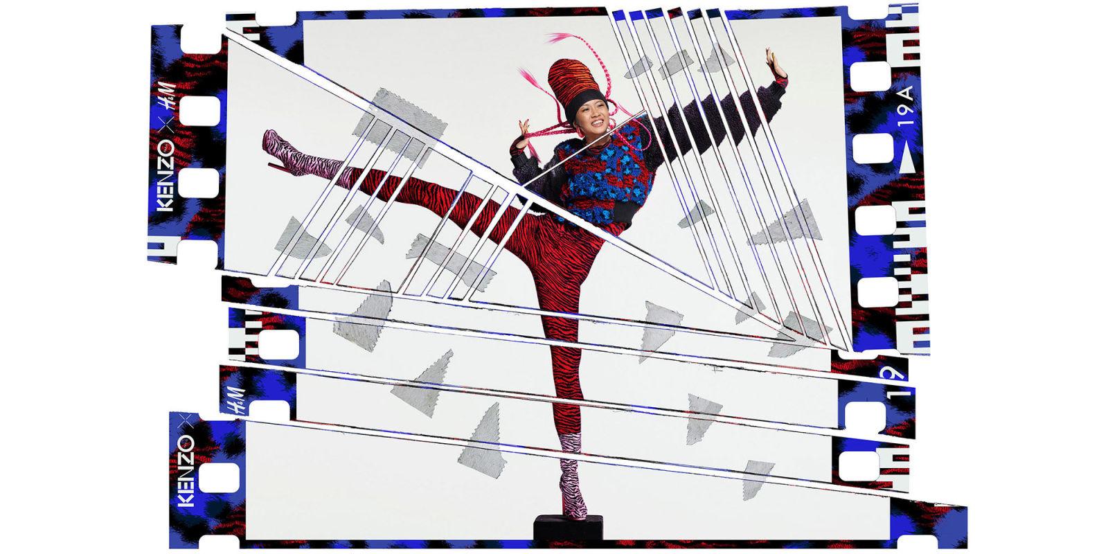 Kenzo H&M - Jean Paul Goude