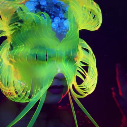 Björk Medusa Mask