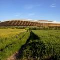 деревянный стадион